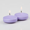 "Richland Floating Candles 3"" Lavender Set of 24"