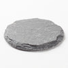 richland round natural slate coaster 4 set of 4