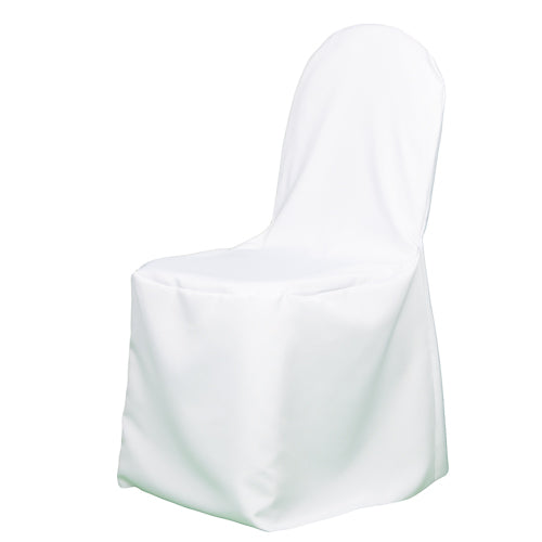 Richland Banquet Chair Cover White Set of 100