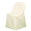 Richland Folding Chair Cover Ivory