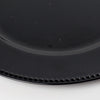 richland beaded charger plate 13 black set of 48