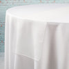 "Richland 12""x108"" Ivory Organza Table Runner Set of 10"
