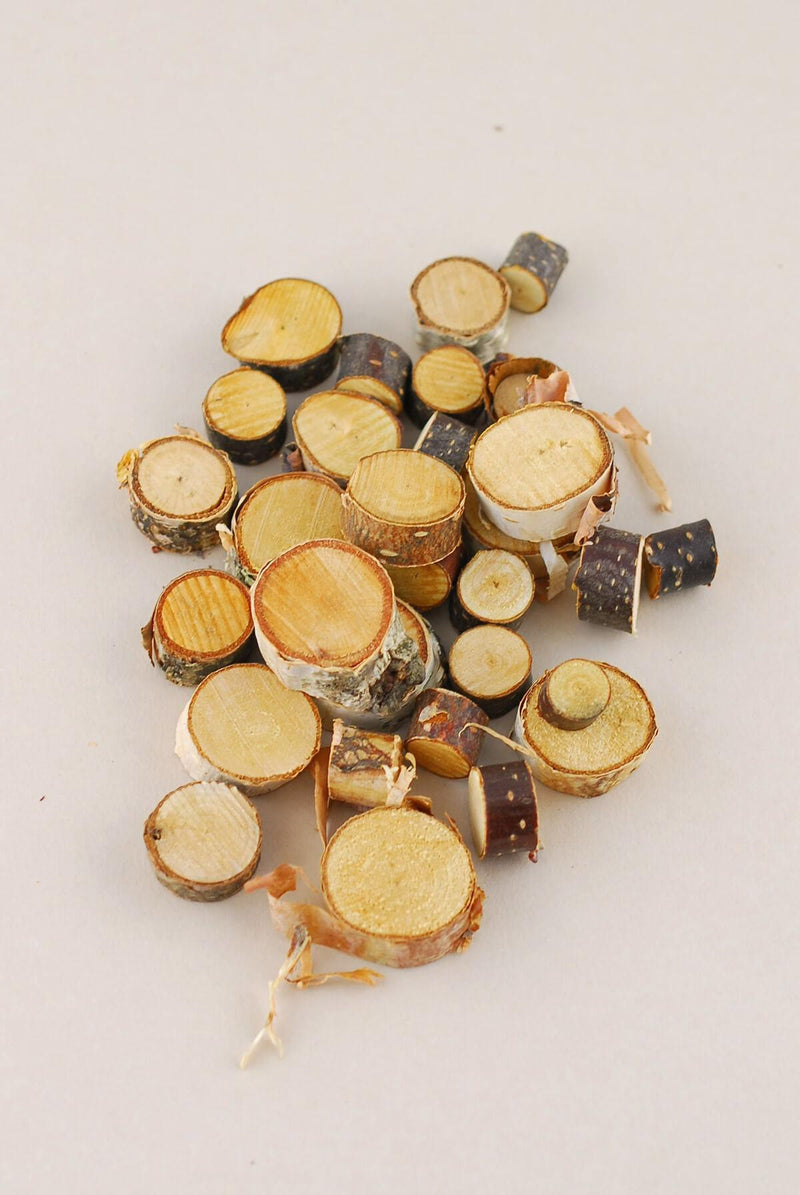 30 Mini Birch Rounds