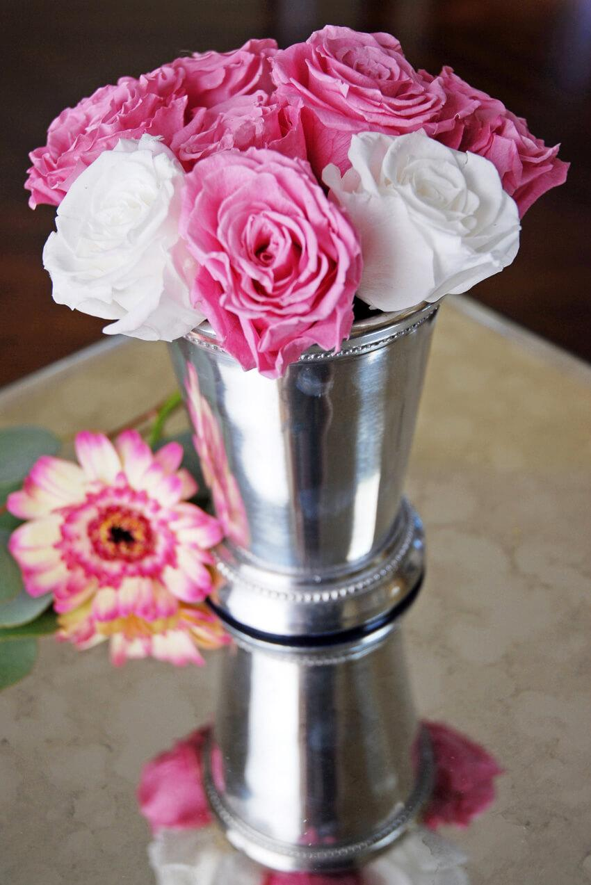 Mint Julep Cup Silver 4.5in