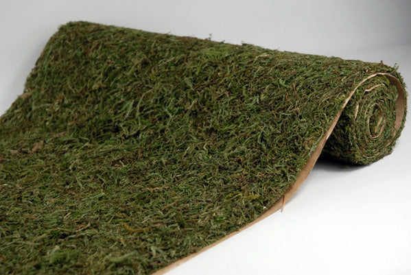 "Preserved Moss Sheeting Runner 16"" x 48"""