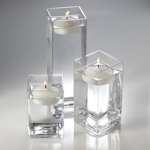 Richland Floating Candles & Eastland Square Holders Set of 3
