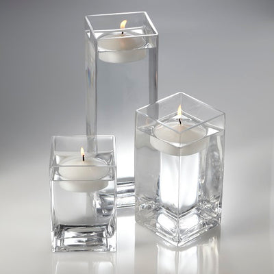 Richland Floating Candles & Eastland Square Holders Set of 18
