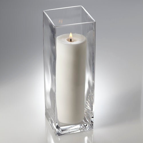 "Eastland Square Pillar Candle Holder 12"" Set of 6"