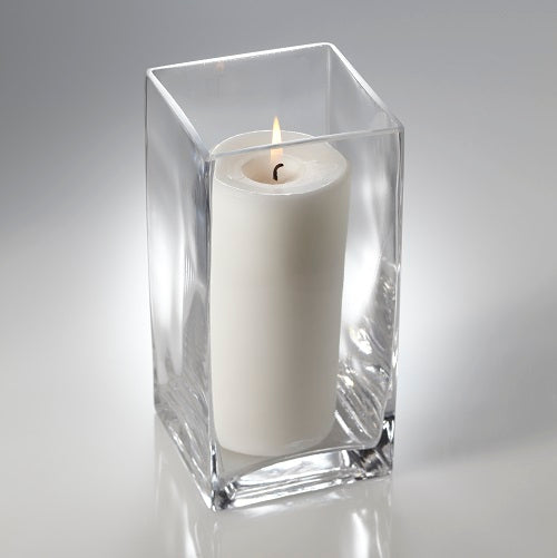 "Eastland Square Pillar Candle Holder 8"" Set of 6"