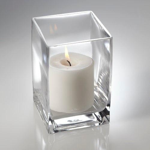 "Eastland Square Pillar Candle Holder 6"" Set of 6"
