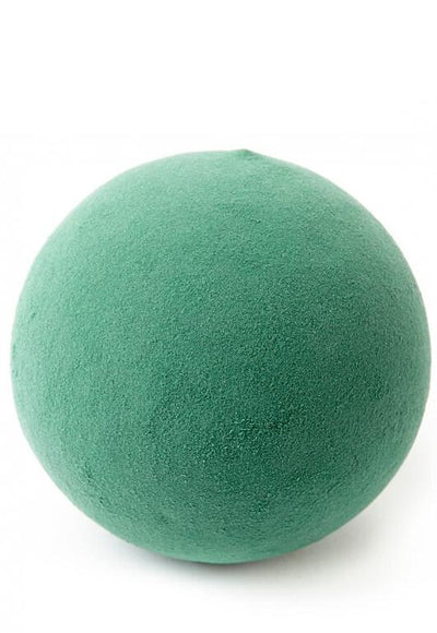"Oasis 8"" Floral Foam Sphere Wet"