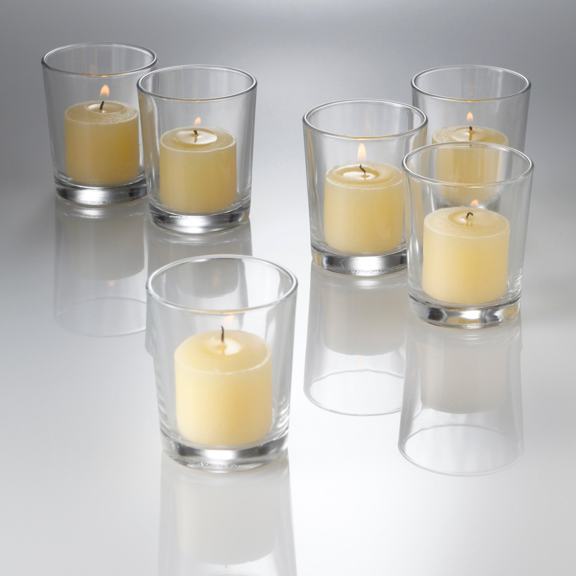 eastland grande votive candle holder set of 72