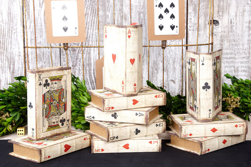 Vintage Playing Card Boxes (Set of 16) 3.5 x 5