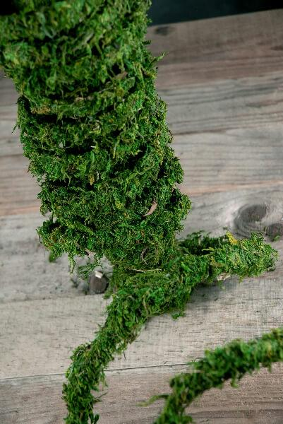 Preserved Moss Vine Roll 60 Feet