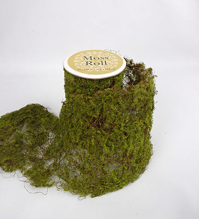 "Sheet Moss Roll Artificial 6"" Width x 36in"