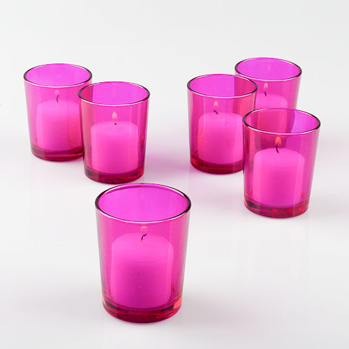 Eastland Votive Holder Pink Set of 12