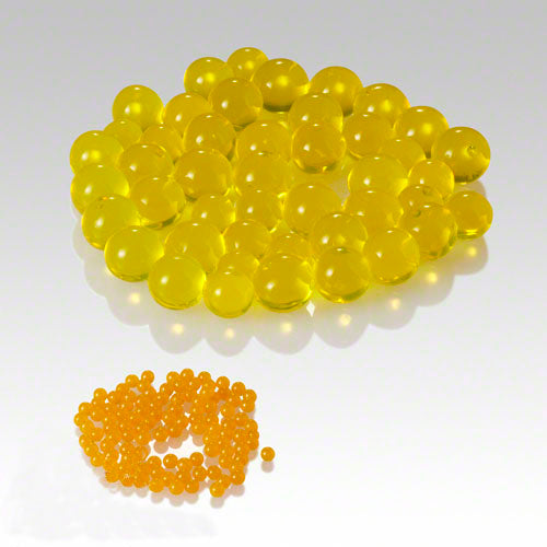 Eastland Yellow Water Pearls Vase Fillers Pack of 36
