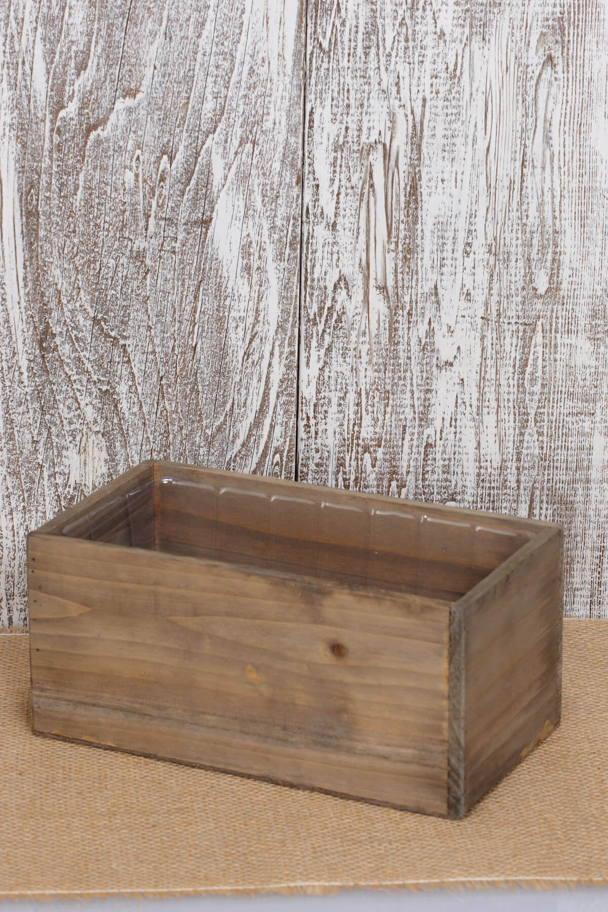 "Planter Box Wood 10"" x 5"""