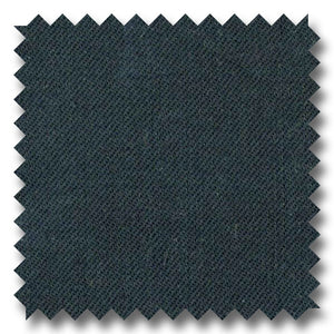 Black Twill Royal Gabardine Super 120's Worsted Wool