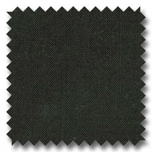 Black Solid Royal Super 120's Worsted Wool