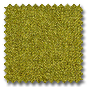 Light Olive Herringbone Flannel Super 100's Wool
