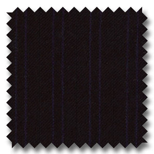 Zegna Black & Navy Stripe