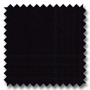 Zegna Black Plaid