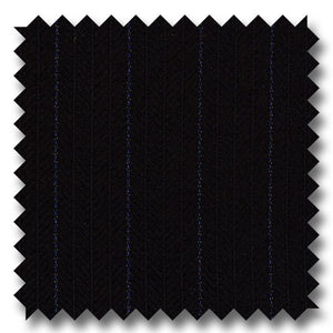 Zegna Black & Blue Stripe