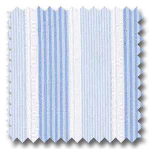 Italian Stripes blue - B06316 Custom Dress Shirt