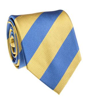 Bruin Blue And Gold Rep Stripe Tie