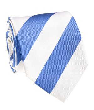 Tar Heel Blue And White Rep Stripe Tie