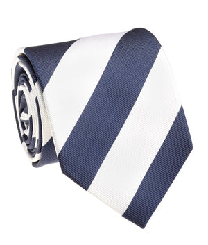 Lion Navy And White Rep Stripe Tie