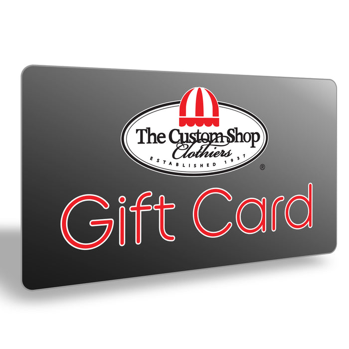Custom Shop Gift Card
