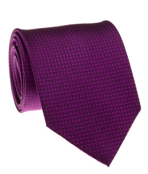 Purple Solid Grid Tie