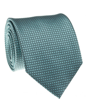 Turquoise Solid Grid Tie