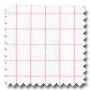Italian Checks & plaids pink - P06246 Custom Dress Shirt