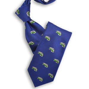 Blue with Green VW Van Tie