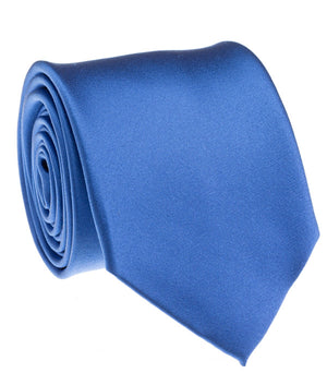 Royal Blue Satin Tie