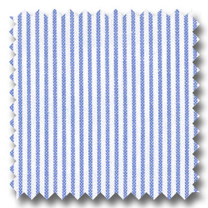 Light Blue Stripe Pinpoint Blend - Custom Dress Shirt