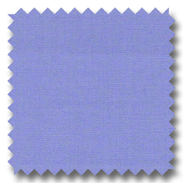 Medium Blue Solid 100's 2Ply Broadcloth - Custom Dress Shirt