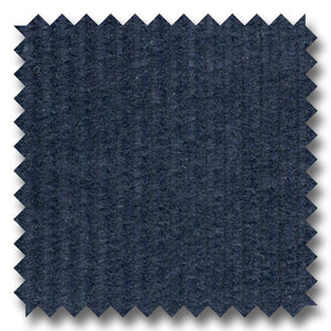Navy Solid Wide Wale Corduroy 100% Cotton