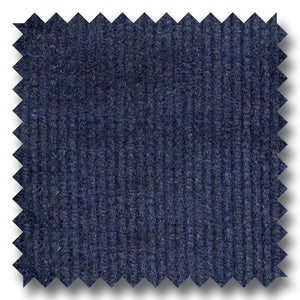 Navy Solid Pinwale Corduroy 100% Cotton