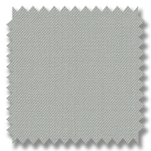 Cloud Gray Plain Super 120's Merino Wool