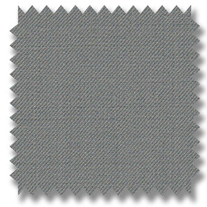 Platinum Gray Plain Super 120's Merino Wool