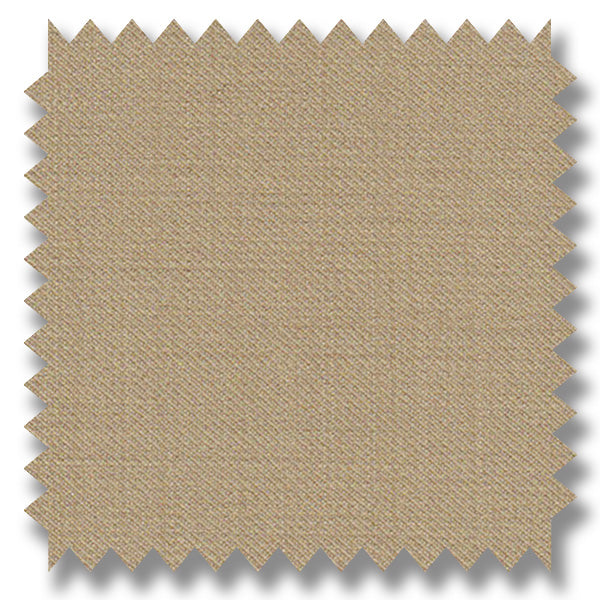 Light Beige Plain Super 120's Merino Wool