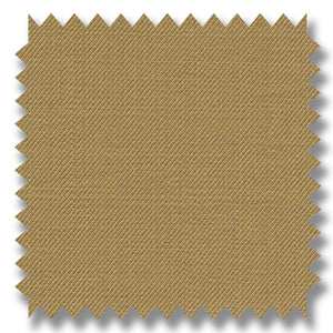Khaki Plain Super 120's Merino Wool