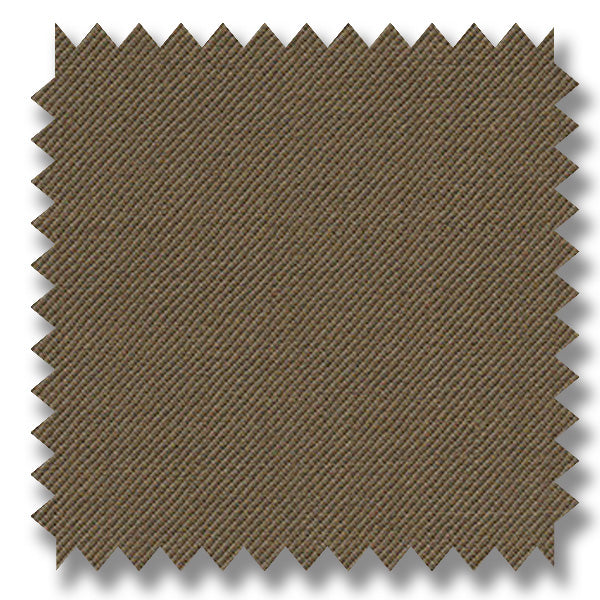 Mocha Brown Plain Super 120's Merino Wool