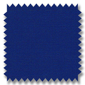 French Blue Plain Super 120's Merino Wool