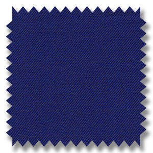 Royal Blue Plain Super 120's Merino Wool