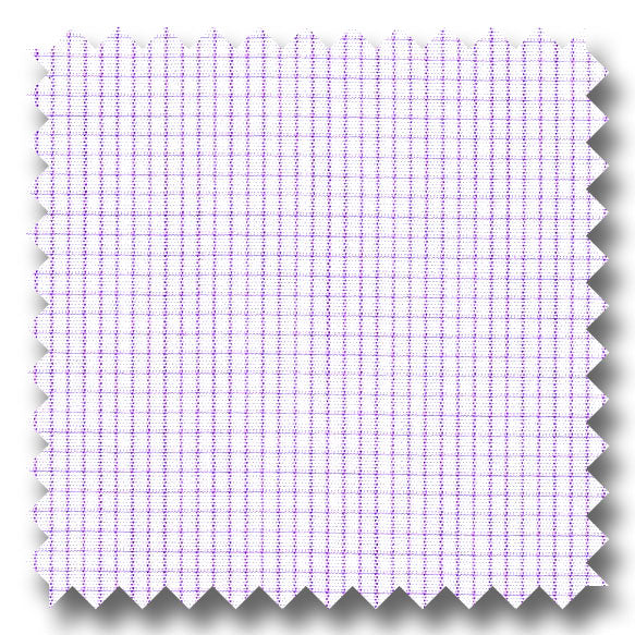 Lavender Check 2Ply Broadcloth - Custom Dress Shirt